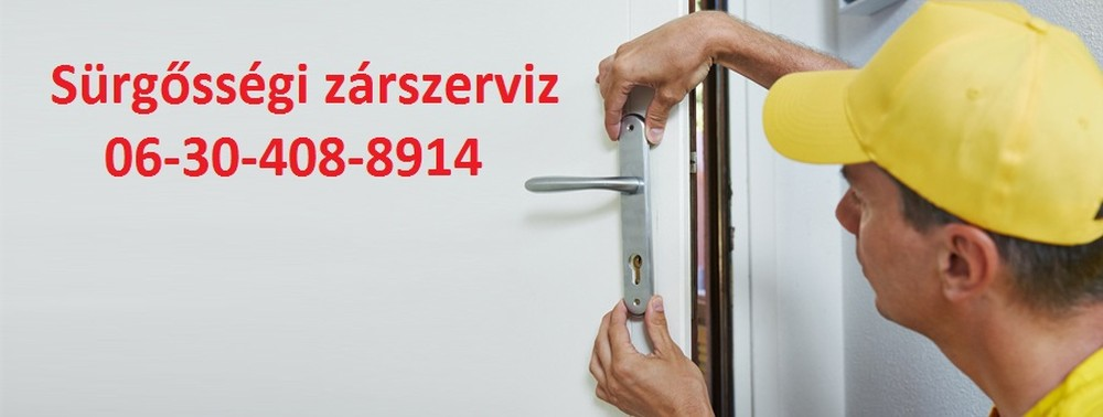 zárcsere Budapest 0630-408-8914